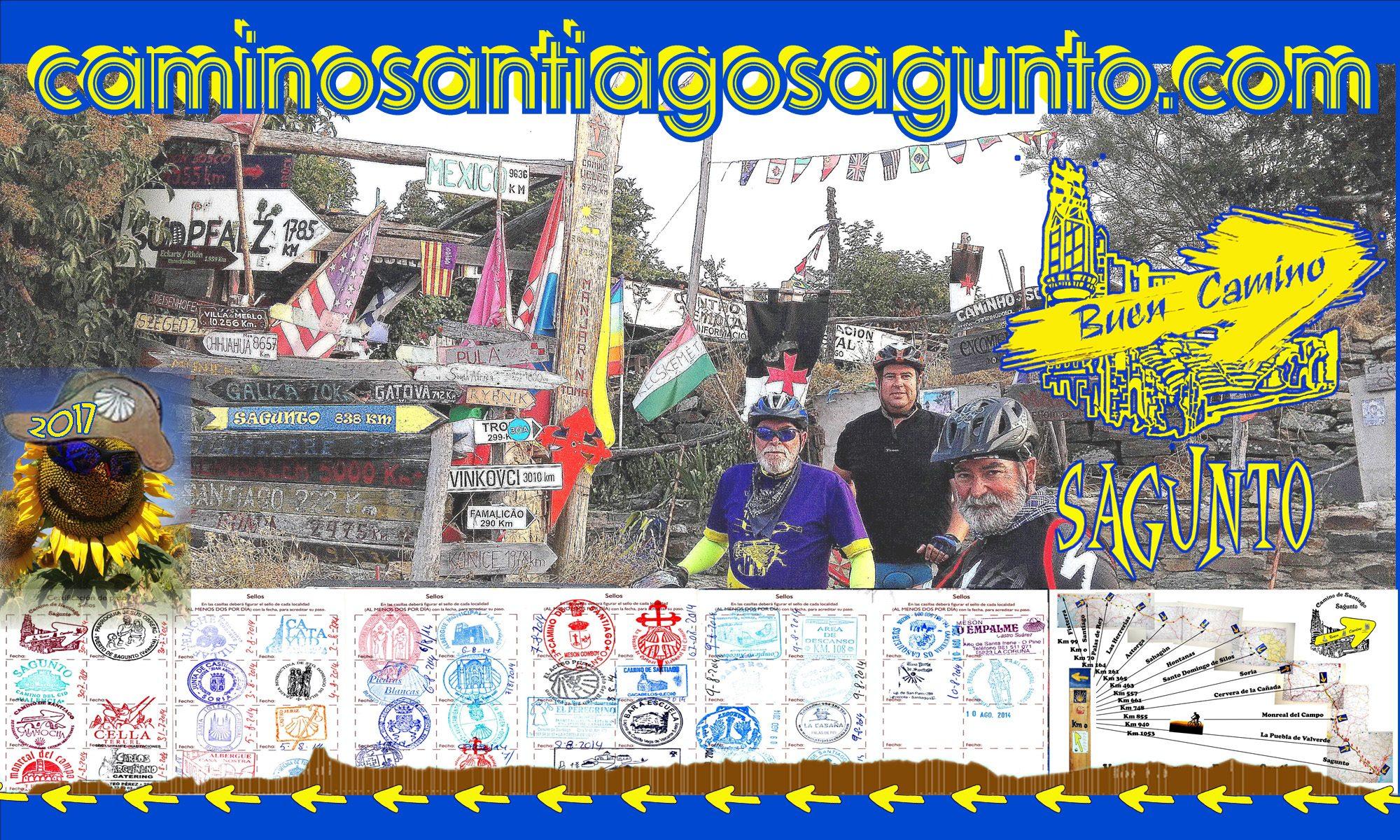 Camino Santiago de Sagunto en Bicicleta